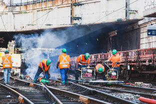 reportage photo chantier gare saint lazare paris