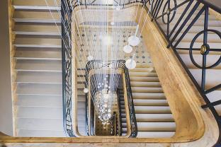 photographe chantier paris pour la restauration d'un escalier intérieur dans un hôtel particulier