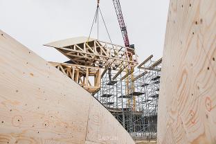 photographe suivi de chantier de construction BTP