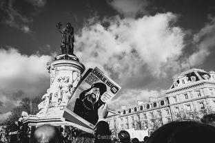 marche républicaine paris place de la république je suis charlie