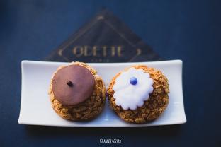 douceur à saint-michel - les choux à la crème d'Odette Paris