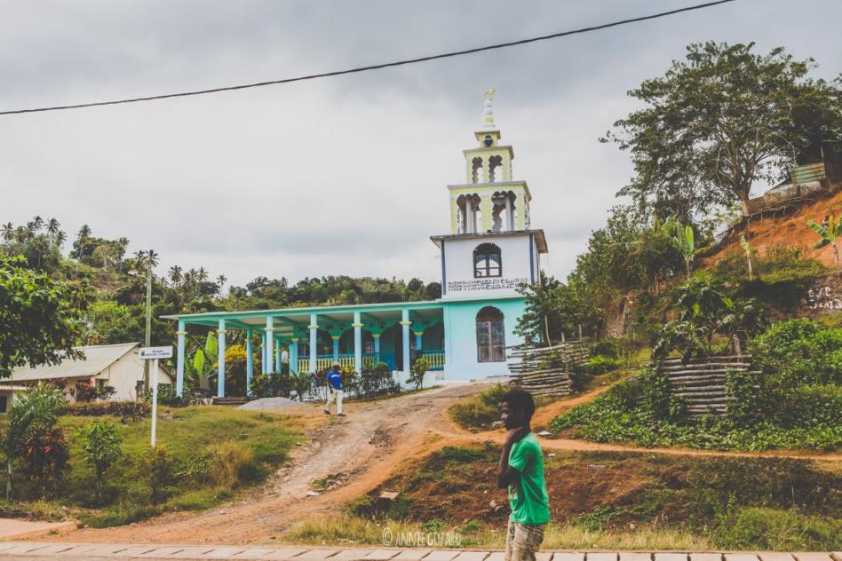 Carnet de voyage Mayotte mosquée