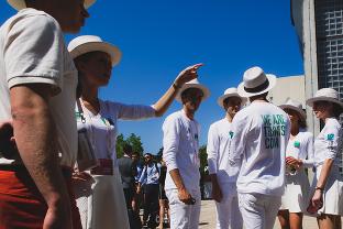reportage événementiel paris - Roland-Garros - Trophée des Légendes Perrier - BNP Paribas - organisation pour les vip et rencontre avec des personnalités
