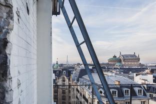 photographe suivi de chantier travaux de rénovation immeuble bureaux paris