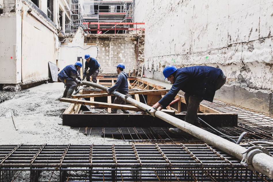 photographe suivi de chantier construction